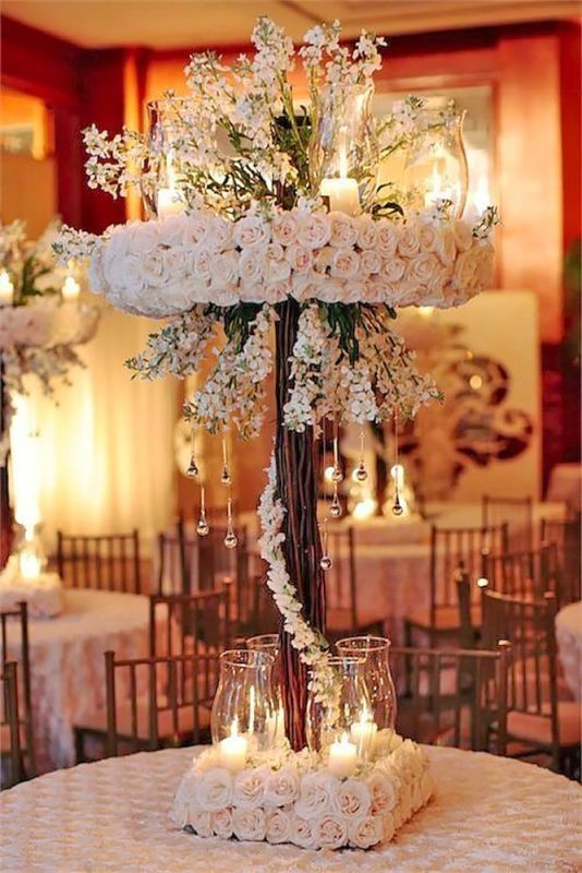 branch-wedding-centerpieces-7 11 Tips on Mixing Antique and Modern Décor Styles