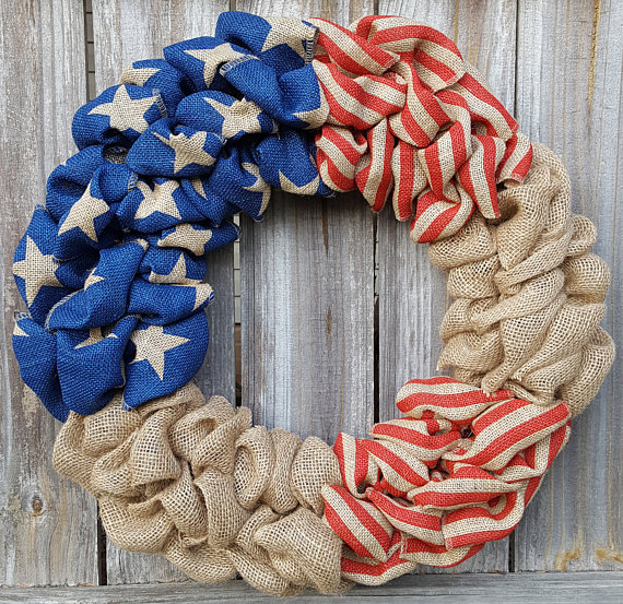 brulap-wreath 7 Vibrant Front Door Decorations for Summer 2020