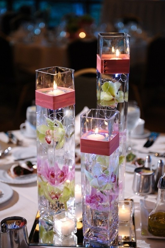 candle-wedding-centerpieces-1 11 Tips on Mixing Antique and Modern Décor Styles