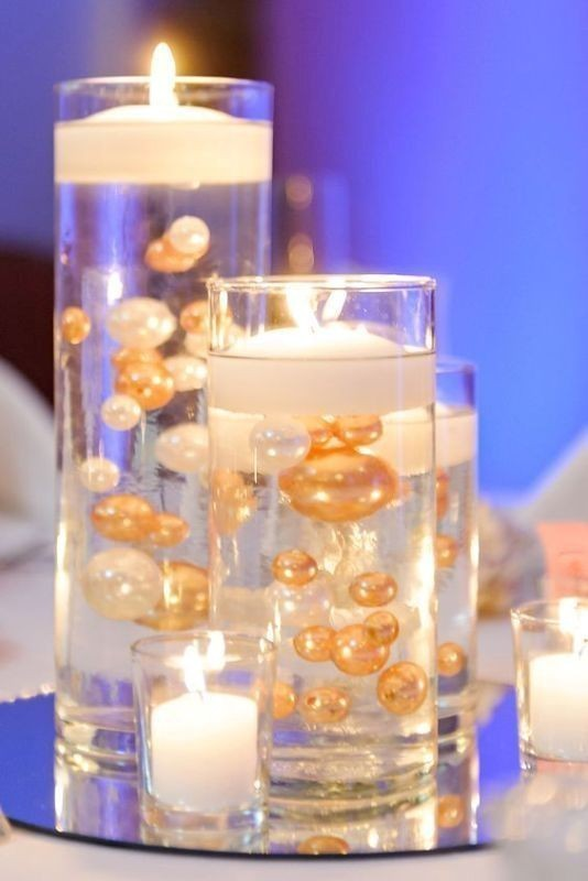 candle-wedding-centerpieces-10 11 Tips on Mixing Antique and Modern Décor Styles