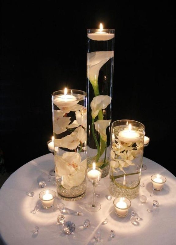 candle-wedding-centerpieces-13 11 Tips on Mixing Antique and Modern Décor Styles