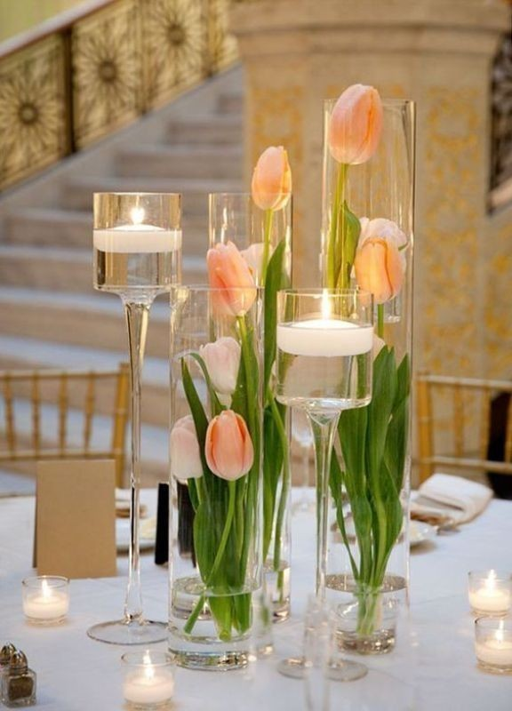 candle-wedding-centerpieces-14 11 Tips on Mixing Antique and Modern Décor Styles