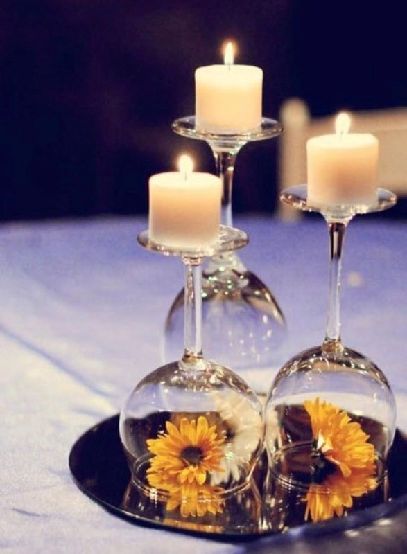 candle-wedding-centerpieces-15 11 Tips on Mixing Antique and Modern Décor Styles