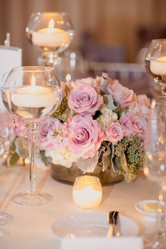 candle-wedding-centerpieces-2 11 Tips on Mixing Antique and Modern Décor Styles