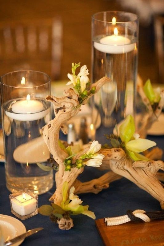 candle-wedding-centerpieces-6 11 Tips on Mixing Antique and Modern Décor Styles