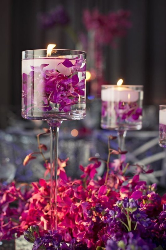 candle-wedding-centerpieces-8 11 Tips on Mixing Antique and Modern Décor Styles
