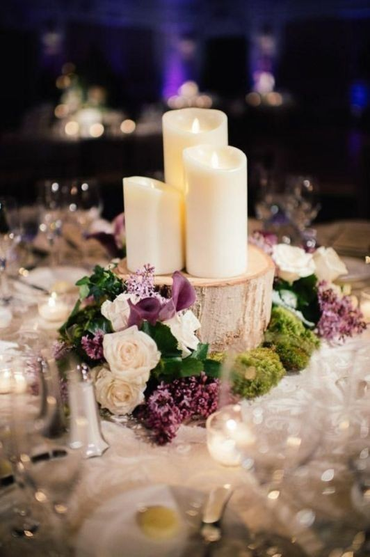 candle-wedding-centerpieces 79+ Insanely Stunning Wedding Centerpiece Ideas