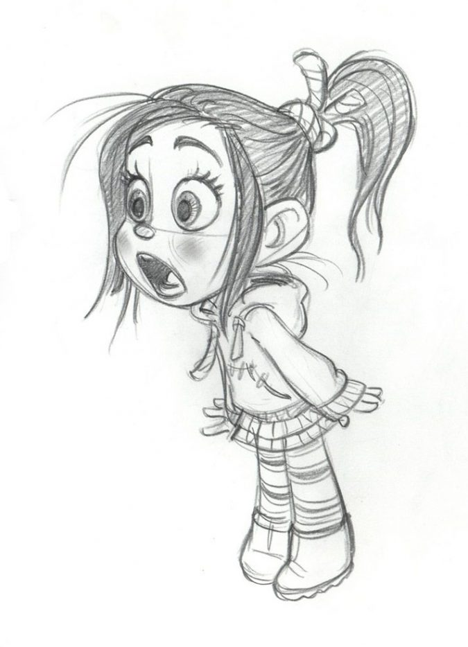 cartoon-drawing-675x934 7 Tips to draw Stunning Cartoon Characters