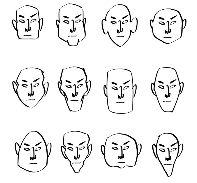 cartoons-tutorial-1-675x627 7 Tips to draw Stunning Cartoon Characters