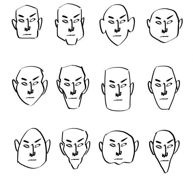 cartoons-tutorial-1-675x627 7 Tips to draw Stunning Cartoon Characters