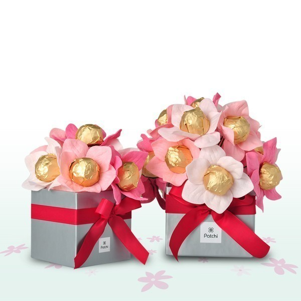 chocolate-floral-bouquet-2 35 Unexpected & Creative Handmade Mother's Day Gift Ideas