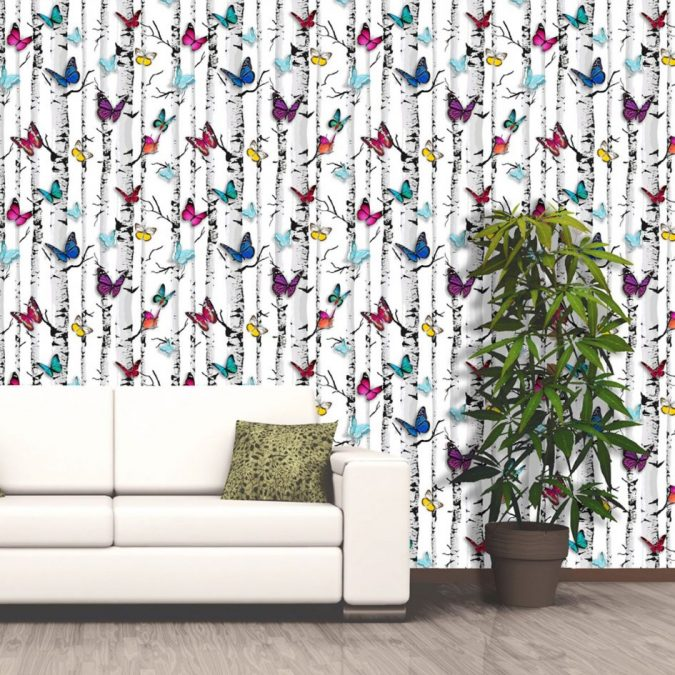 colorful-butterflies-White-background-home-decor-675x675 The 15 Newest Interior Design Ideas for Your Home in 2018