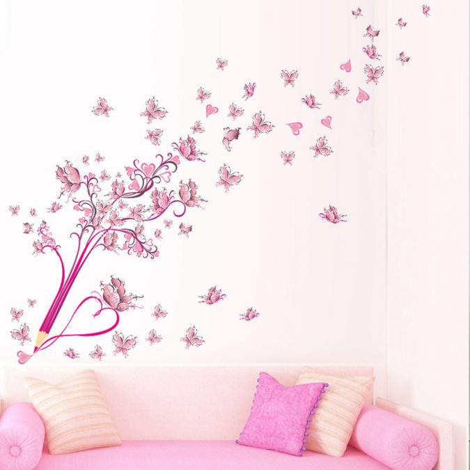 colorful-butterflies-home-decor-Creative-Pencil-Flower-font-b-Butterfly-675x675 15+ Latest Interior Design Ideas for Your Home in 2020