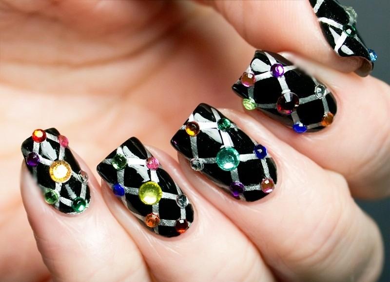 embellished-nails-21 16+ Lovely Nail Polish Trends for Spring & Summer 2018