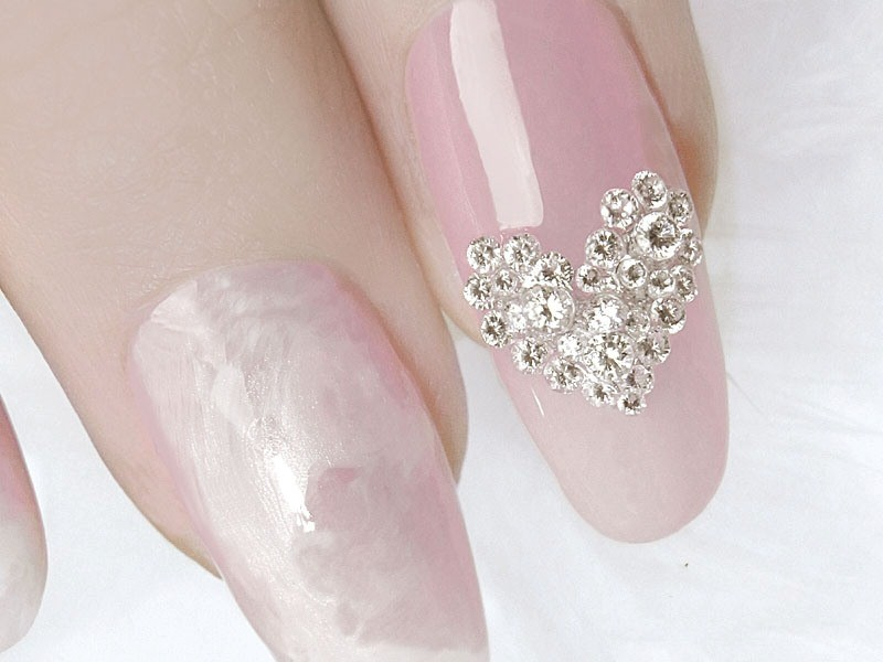embellished-nails-23 16+ Lovely Nail Polish Trends for Spring & Summer 2018