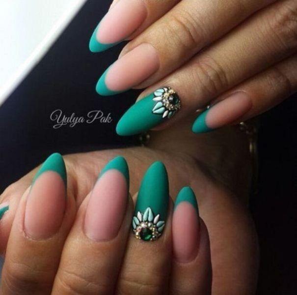 embellished-nails-9 16+ Lovely Nail Polish Trends for Spring & Summer 2018