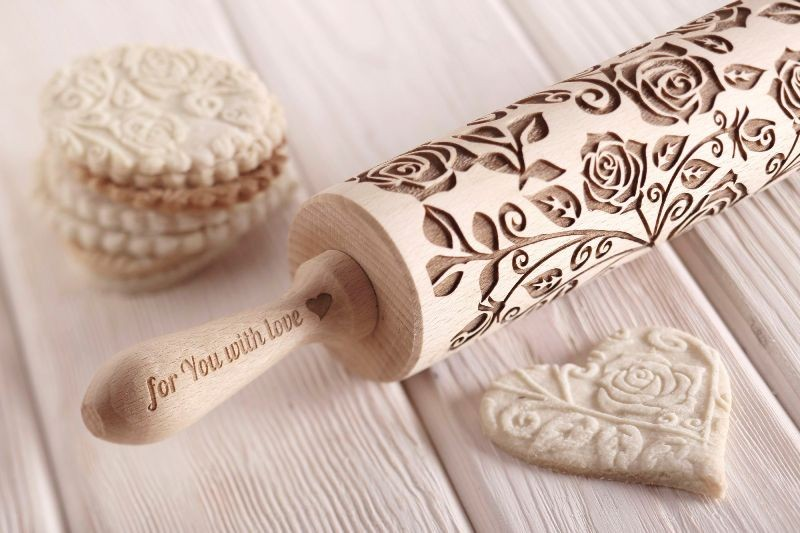 engraved-rolling-pin 28+ Most Fascinating Mother's Day Gift Ideas