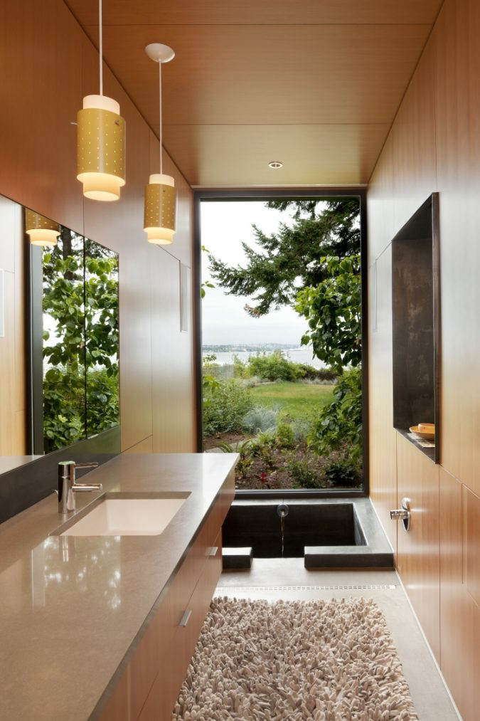 glass-bathroom-fused-with-nature-3-675x1013 The 15 Newest Interior Design Ideas for Your Home in 2018