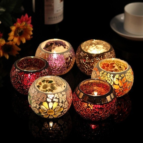 handmade-candle-holders-20 35 Unexpected & Creative Handmade Mother's Day Gift Ideas
