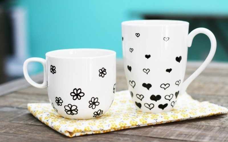 handmade-personalized-mugs-7 35 Unexpected & Creative Handmade Mother's Day Gift Ideas