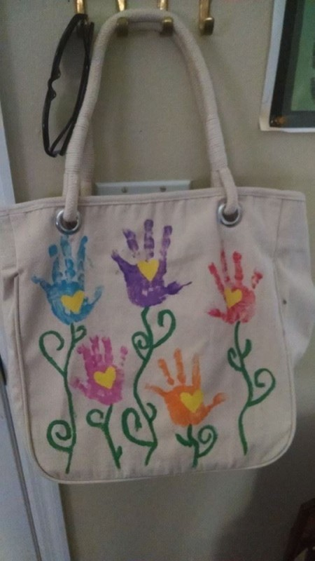 handprint-and-footprint-crafts-and-art-ideas-1 35 Unexpected & Creative Handmade Mother's Day Gift Ideas