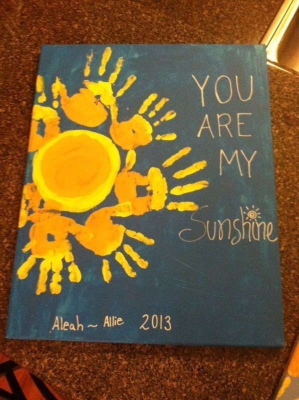 handprint-and-footprint-crafts-and-art-ideas-3 35 Unexpected & Creative Handmade Mother's Day Gift Ideas