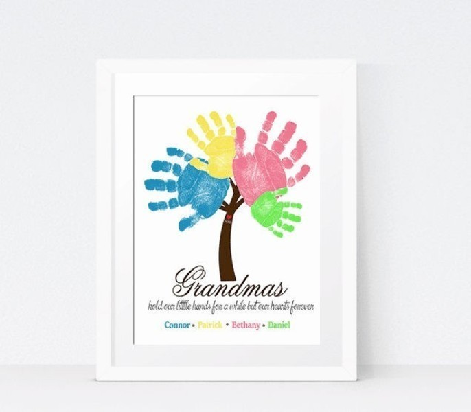 handprint-and-footprint-crafts-and-art-ideas-6 35 Unexpected & Creative Handmade Mother's Day Gift Ideas