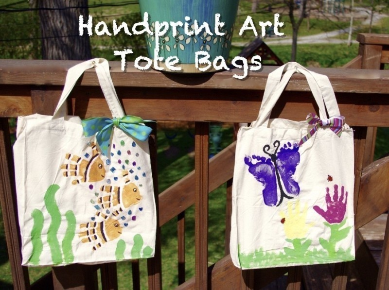 handprint-and-footprint-crafts-and-art-ideas-8 35 Unexpected & Creative Handmade Mother's Day Gift Ideas