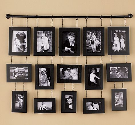 hang-memories-in-identical-or-contrasting-frames Few Chic Yet Affordable Ways For Your Home Garnishing