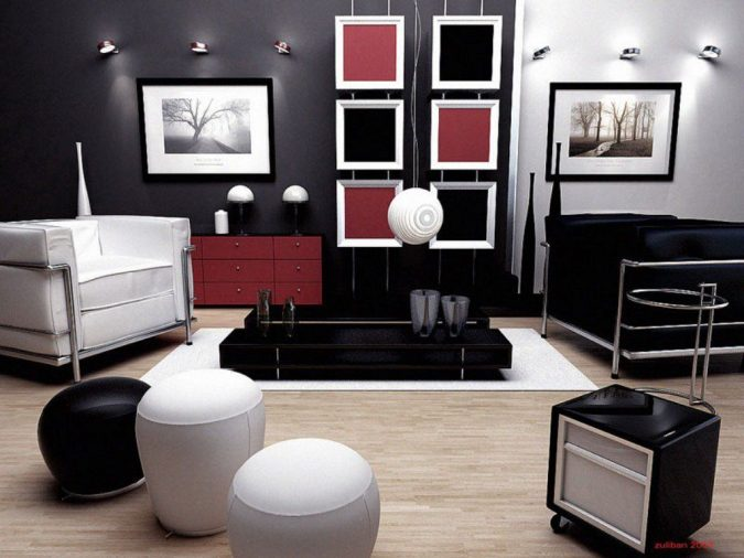 interior-design-black-and-white-675x506 14 Smoking Hot Trends in 2017 Revealed by Interior Designers