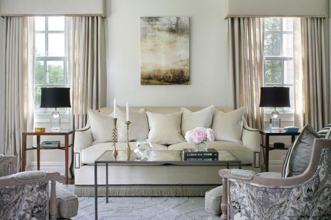interior-design-living-room-artwork-675x450 15 Interior Design Tips & Ideas for Narrow Small Spaces