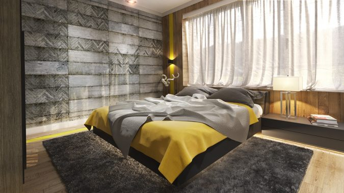 interior-design-messy-design-geometric-concrete-bedroom-wall-panels-675x379 >> Trending: 20 Bedroom Designs to Watch for in 2020