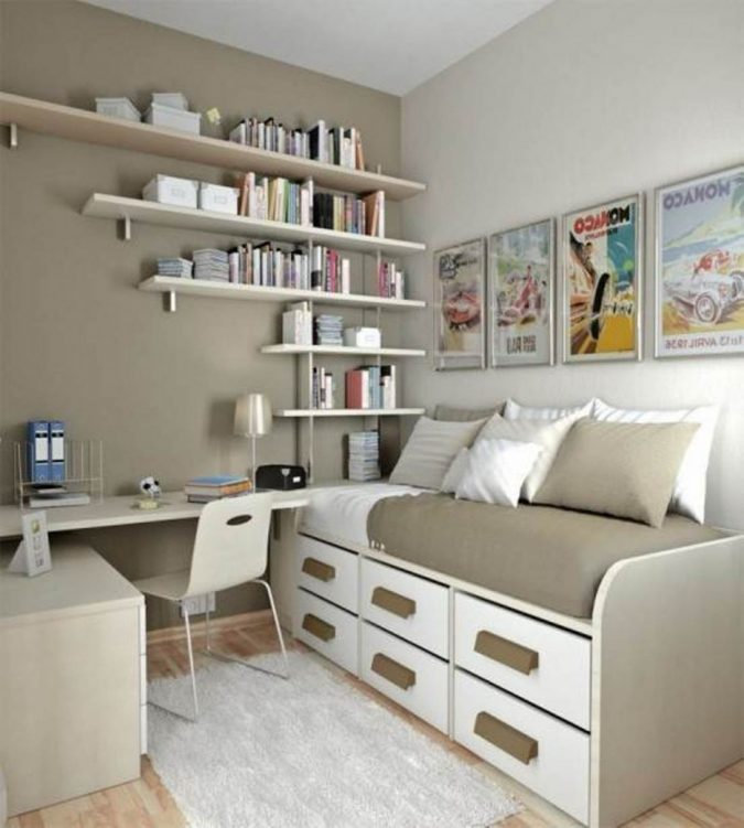 interior-design-multipurpose-items-675x751 15 Interior Design Tips & Ideas for Narrow Small Spaces