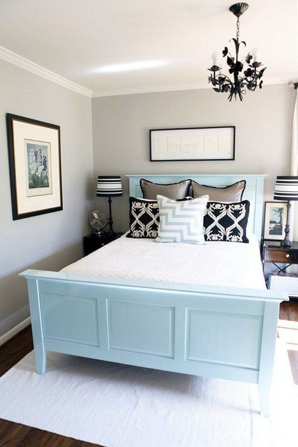 interior-design-small-bedroom-light-colors 15 Interior Design Tips & Ideas for Narrow Small Spaces
