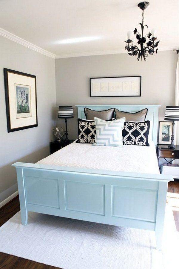 interior-design-small-bedroom-light-colors 15 Interior Design Tips & Ideas for Narrow Small Spaces