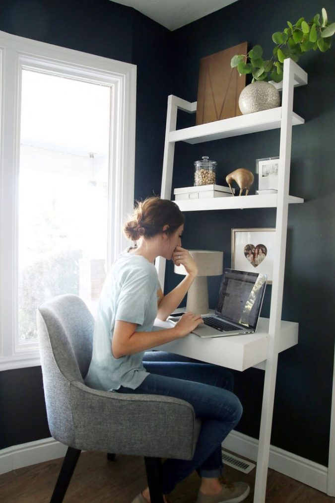 interior-design-small-room-nook-675x1013 15 Interior Design Tips & Ideas for Narrow Small Spaces