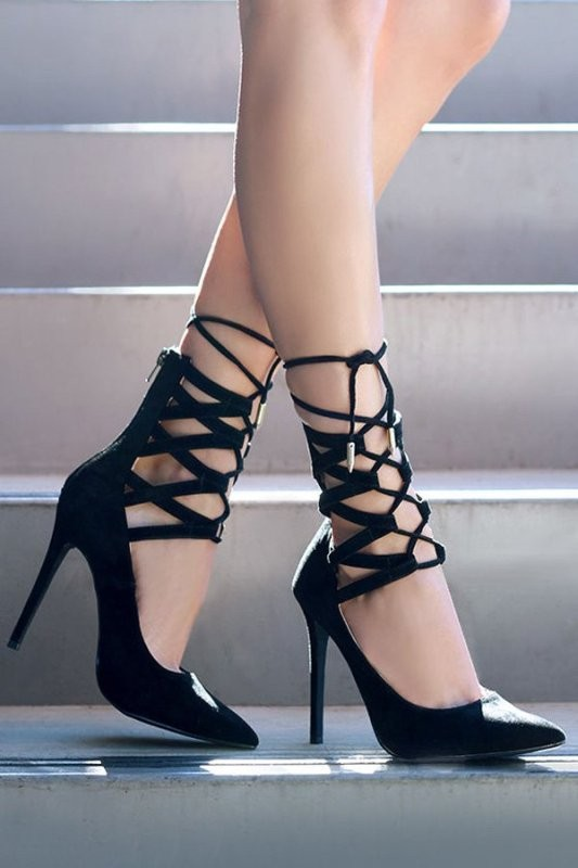 lace-up-heels-10 11+ Catchiest Spring / Summer Shoe Trends for Women 2020