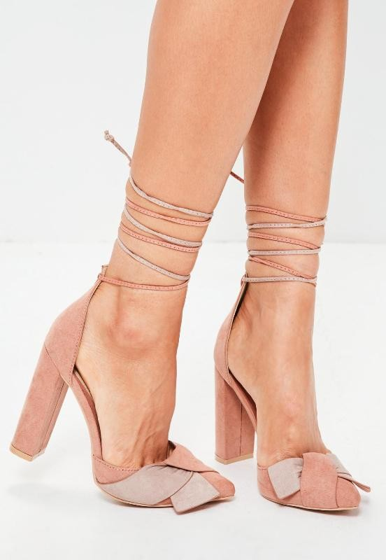 lace-up-heels-18 11+ Catchiest Spring / Summer Shoe Trends for Women 2020