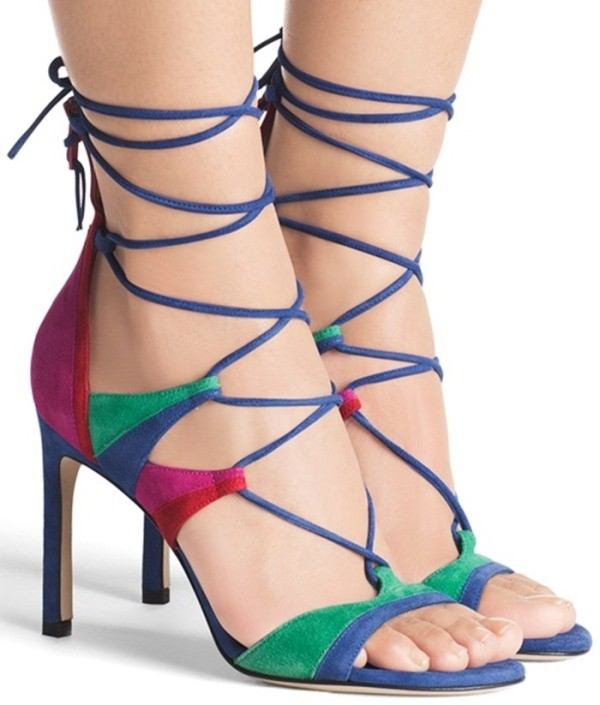 lace-up-heels-21 11+ Catchiest Spring & Summer Shoe Trends for Women 2018