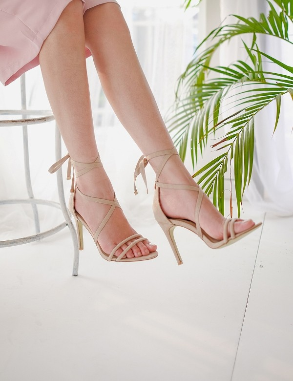 lace-up-heels-23 11+ Catchiest Spring / Summer Shoe Trends for Women 2020