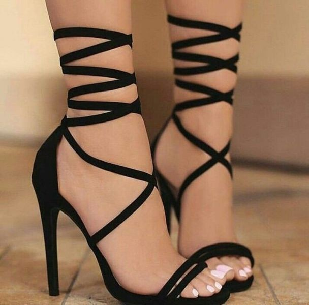 lace-up-heels-24 11+ Catchiest Spring / Summer Shoe Trends for Women 2020