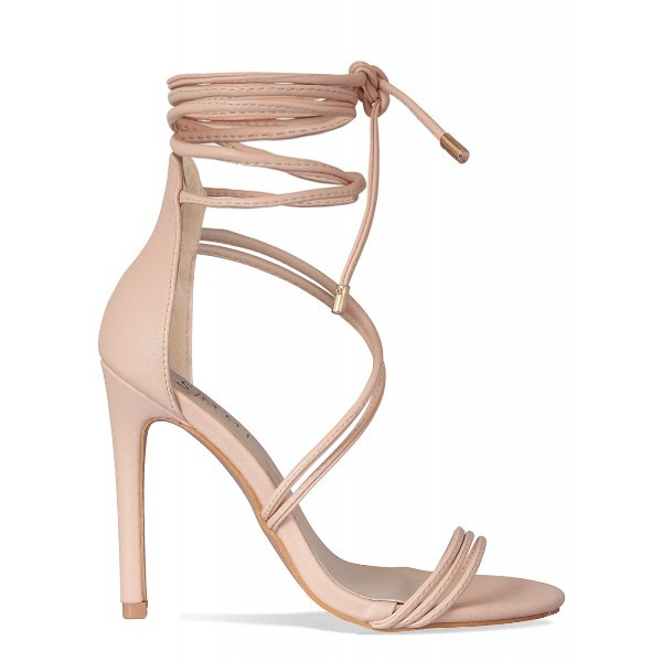 lace-up-heels-5 11+ Catchiest Spring / Summer Shoe Trends for Women 2020