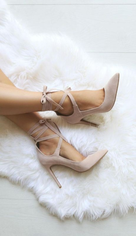 lace-up-heels-8 11+ Catchiest Spring / Summer Shoe Trends for Women 2020