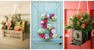 7 Vibrant Front Door Decorations for Summer 2017