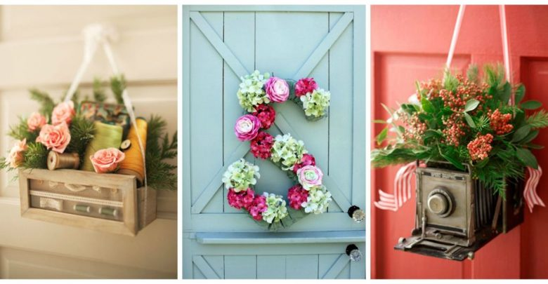 7 Vibrant Front Door Decorations For Summer 2018