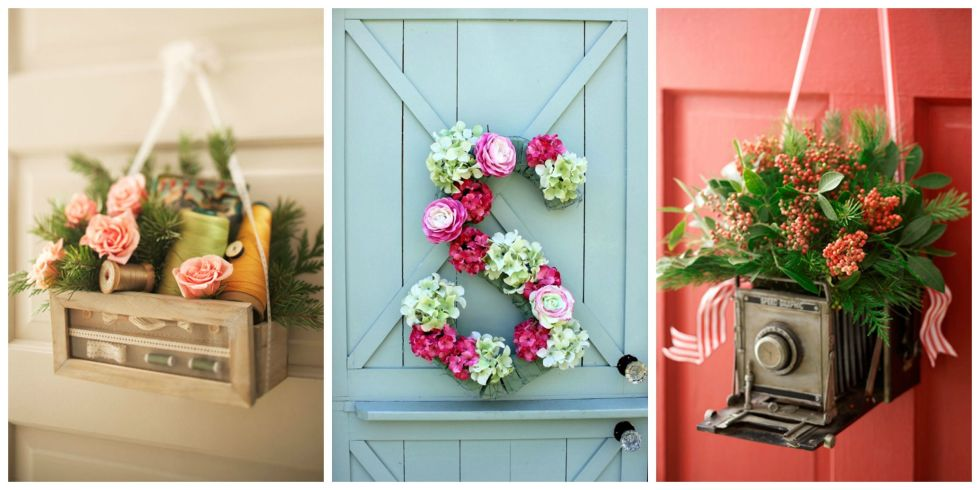 7 Vibrant Front Door Decorations For Summer 2017. Image