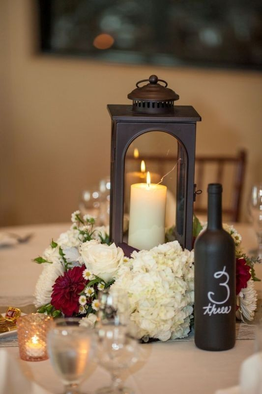 lantern-wedding-centerpieces-3 11 Tips on Mixing Antique and Modern Décor Styles