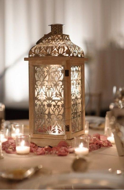 lantern-wedding-centerpieces 11 Tips on Mixing Antique and Modern Décor Styles