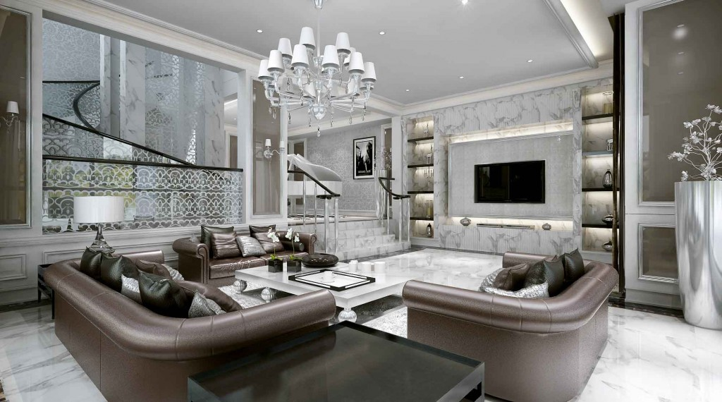 luxury living room design by ace   5 Outdated Home Decor Trends That Are Coming Again in 2018 ...