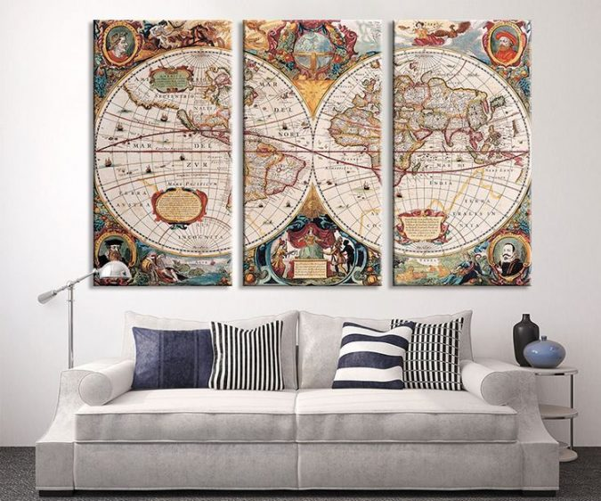 large-maps-interior-design-2-675x562 The 15 Newest Interior Design Ideas for Your Home in 2018